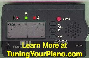Korg CA-30 Tuner for Piano Tuning