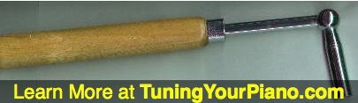 Piano Tuning Hammer/Lever/Wrench