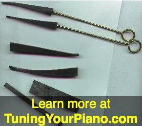 Piano Tuning Mutes